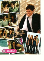 Adam Brody teen magazine pinup clipping The OC Single Parents Popstar beach - $1.50