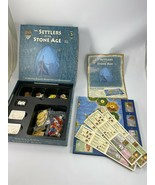 THE SETTLERS OF THE STONE AGE BOARD GAME MAYFAIR/KLAUS TEUBER EXC COMPLE... - $56.09