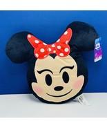 Minnie Mouse Plush stuffed animal face Emoji nwt new tag walt disney pil... - $17.30