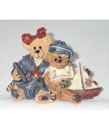 Boyd Bearstone Resin Bears 1998 Elvira and Chauncey Fitzbruin Shipmate F... - $9.46