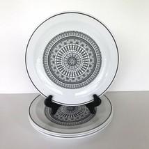 "Set Of 4 Vintage Glass Corning Centura ""Graffia"" Dinner Plates RARE HTF 10 1/2"" - $44.54"