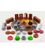Gloomhaven Custom 3D Printed Terrain & Obstacle Tiles Set 1 - $85.00