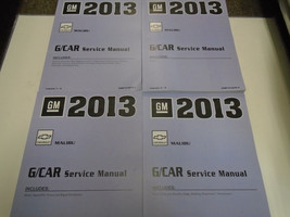 2013 Chevrolet Chevy MALIBU Repair Workshop Service Shop Manual SET NEW ... - $316.75