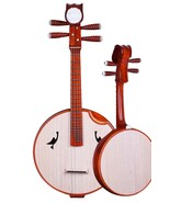 Professional Scented Rosewood Zhongruan - Chinese Banjo Lute - $399.00