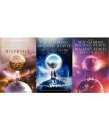 Neil Gaiman INTERWORLD TRILOGY Young Adult Fantasy Series Set of Paperba... - $24.99