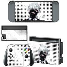 Nintendo Switch Console Dock Vinyl Skin Stickers Decals Tokyo Ghoul Kaneki Ken - $9.60