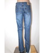 """JORDACHE Women's Size 9/10 Long Lo-Rise Bootcut Stretch Denim Jeans 34"""" ... - $26.11"""
