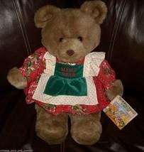 "20"" VINTAGE 1991 COMMONWEALTH WALLINGTON TEDDY BEAR STUFFED ANIMAL PLUSH... - $42.08"