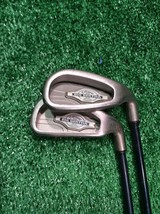 Callaway Big Bertha X 12 5 and 8 Iron Set Firm Graphite, Right handed - $29.99
