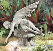 18 inch FAIRY STATUE SCULPTURE Outdoor Garden Patio Indoor Home Decorati... - $196.89