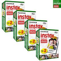 80 PCS Fujifilm INSTAX MINI Instant film picture for camera 7s/8/25/50/9... - $79.97