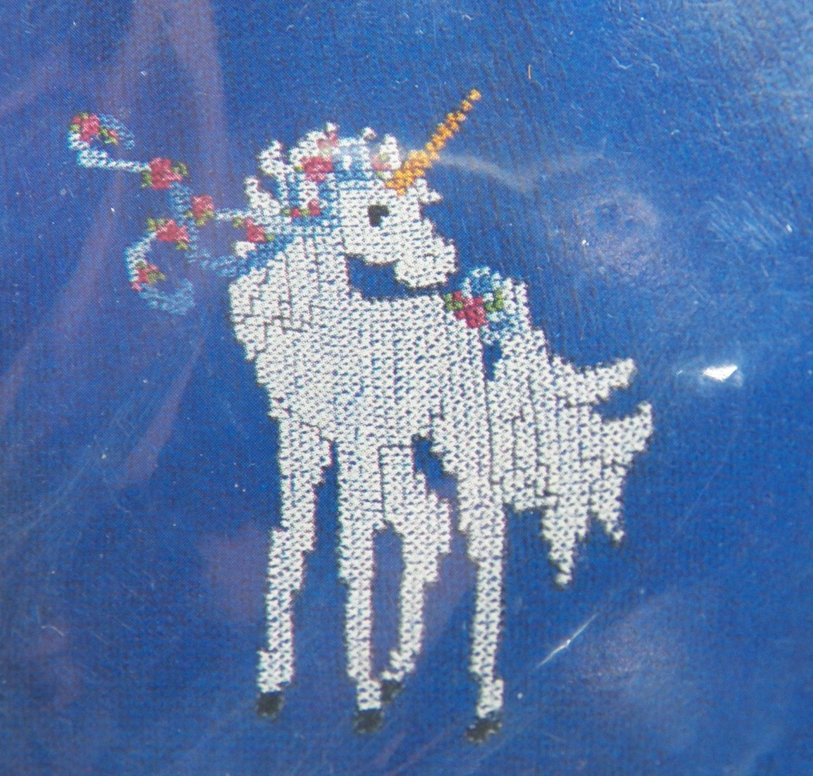 Wearable UNICORN Cross Stitch # 60274 Tear Away Canvas for Shirts Totes Decor