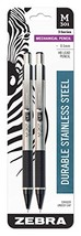 Zebra 54012 Stainless Steel Mechanical Pencil, 0.5mm Point Size, Standar... - $7.65