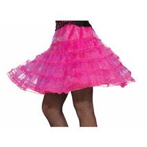 Forum Layered Costume Underskirt, Pink, Standard - $6.85