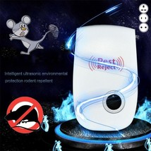 Ultrasonic Pest Reject Electronic Magnetic Repeller Anti Mosquito Insect... - $5.88