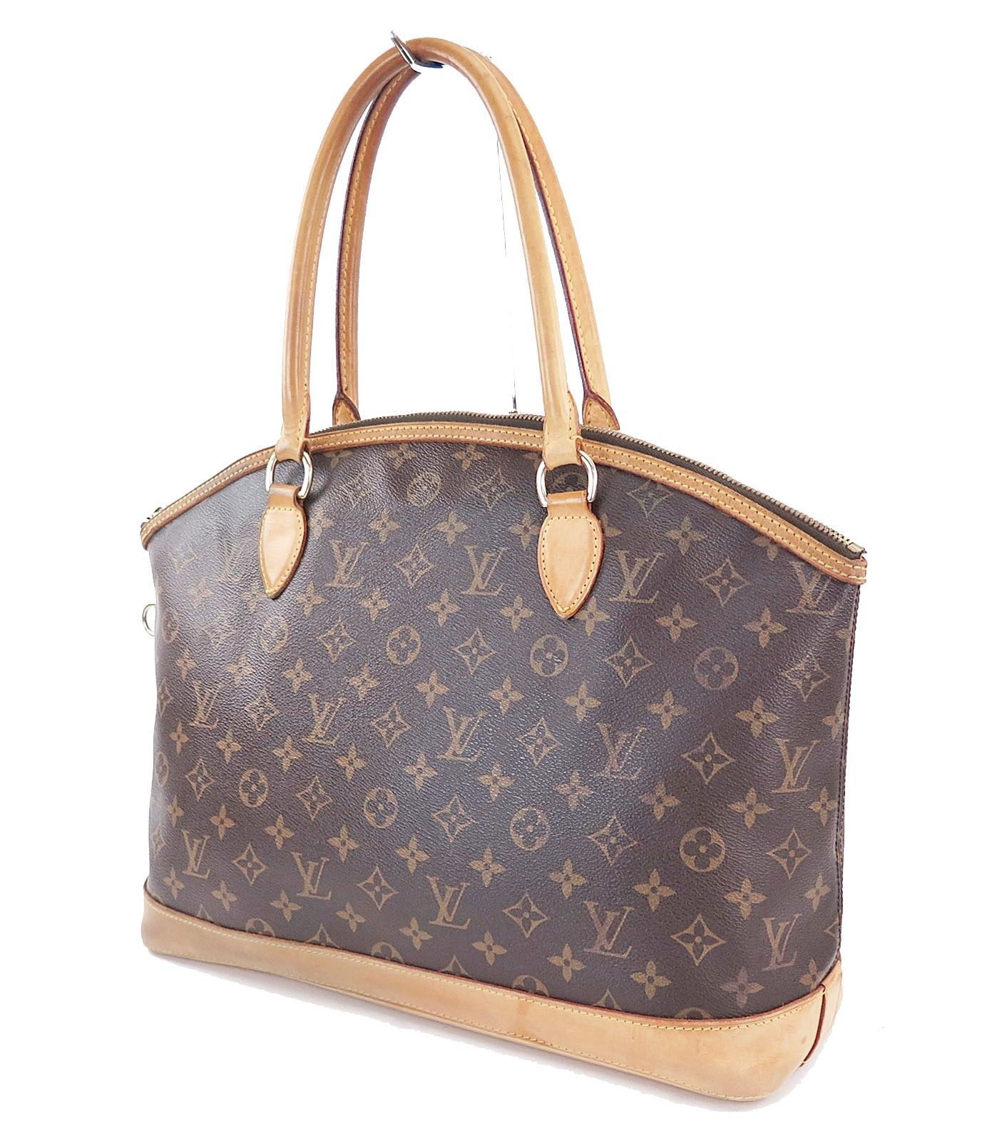 c3570a85fc7 57. 57. Authentic LOUIS VUITTON Lockit Horizontal Monogram Tote Shoulder Bag  ...