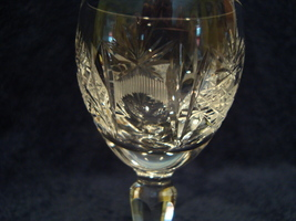 Three pressed clear glass cordial glasses. - $15.00