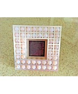 David Howell Metal Grid Swirling Marbles Encased Photo Frame  5 1/8 X 5 1/8 - $26.18