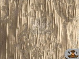 """Taffeta CASTELLA Antique Gold Fabric / 56"""" Wide / Sold by the Yard - $11.76"""