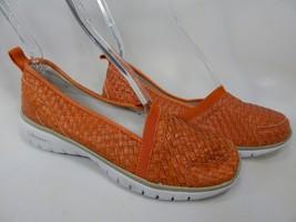 Propet TravelLite Size 7 M (B) EU 37 Women's Slip-On Woven Shoes Orange W3238