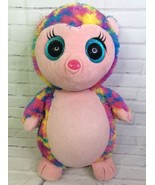Ty Beanie Boos Holly the Hedgehog Large 18in Sparkle Eye 2013 Justice Ex... - $65.44