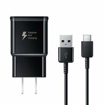 Samsung Adaptive Fast Charger & USB-C Cable for Galaxy Note 9 (100% Auth... - $18.99