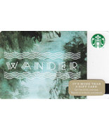 Starbucks 2014 Wander Collectible Gift Card New Free Shipping - $4.99