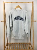 RARE VTG Champion Reverse Weave Rhinoceros Crewneck Sweatshirt Size XL USA - $99.95