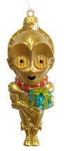 Star Wars C3PO CUTIE Figural Christmas Hallmark Ornament New In Gift Box! - $14.94