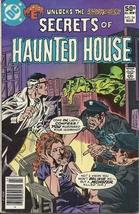 (CB-4) 1981 DC Comic Book: Secrets of Haunted House #34 { Frankenstien a... - $6.50