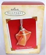 Hallmark Keepsake Christmas Ornament An Angel's Touch 2004 - $14.19