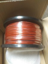 Rockford Fosgate RFW8R 50' length 8 Gauge OFC Frosted RED  Power/Ground Wire image 2