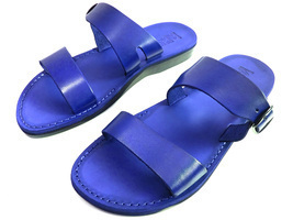 Leather Sandals for Men and Women DOUBLE by SANDALIM Biblical Greek Summ... - $39.38 CAD+