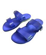 Leather Sandals for Men and Women DOUBLE by SANDALIM Biblical Greek Summ... - €25,43 EUR+