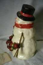 Bethany Lowe Traditional Smiley Snowman image 2