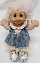 """Custom Russ Troll 12"""" Girl Jenny 2321 Vintage Kidz Winnie the Pooh Tigge... - $39.59"""