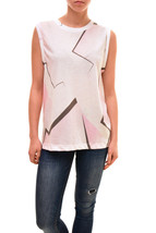 Wildfox Women's Authentic Aftershock Sleeveless Shirt Size S RRP £81 BCF83 - $78.59