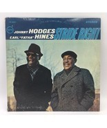 Johnny Hodges & Earl Fatha Hines Stride Right LP 1966 Verve Stereo Vinyl... - $12.34
