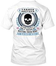 Being A Farmer Brother T Shirt, My Job T Shirt - $9.99+