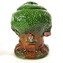 Vintage Keebler Elf Tree Cookie Jar #350 Ernie the Elf - $43.71