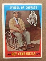 1959 Topps #550 Roy Campanella Baseball Card VG Condition Dodgers RF1 - $39.99