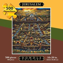 JERUSALEM - FOLK ART - PUZZLE - 500 Pieces - $21.95