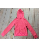 Champions Hoodie Sweatshirt Girls Size M 7/8 Flourescent Pink Athletic Pullover - $10.00