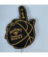 Jack Daniels Tennessee Honey #1 Basketball Black / Gold Foam Finger - $25.00