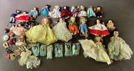 VTG LOT 20+ Madame Alexander Dolls Elise Cinderella Snow White Sleeping ... - $224.96