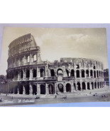 Vintage 1955 Postcard of The Coliseum in Rome black and white - $5.23