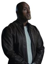 Rampage Movie Jacket Davis Okoye Distressed Brown Dwayne Johnson Leather Jacket image 2