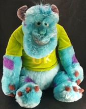 "Disney Oozma Kappa Sully Monsters Inc University Plush Pixar 18"" Large S... - $24.74"
