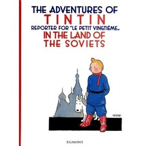 Tintin in the Land of the Soviets hardcover version book