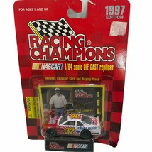 Nascar Racing Champions Dale Jarrett #88 Die Cast Car and Trading Card 1997 - $11.69